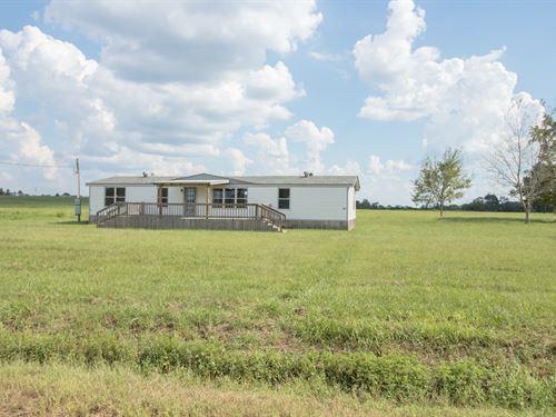 3B/2B Mobile Home 3.23 Acres : Slocomb : Geneva County : Alabama
