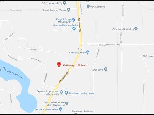 Development Site : McDonough : Henry County : Georgia