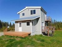 Cute 1 Bdrm Home on 4.3 Acres on : Soldotna : Kenai Peninsula Borough : Alaska