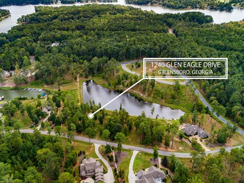 Lot At Harbor Club-Lake Oconee : Greensboro : Greene County : Georgia