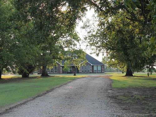 Home With Shop On 10 Acres : Detoit : Red River County : Texas