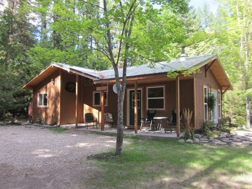 Yaak River Compound : Yaak : Lincoln County : Montana