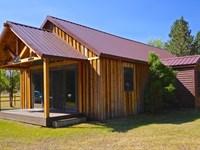 Blackfoot River Cabin : Greenough : Missoula County : Montana