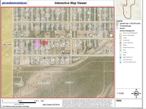 1 Acre, Power & Electric Available : Golden Valley : Mohave County : Arizona
