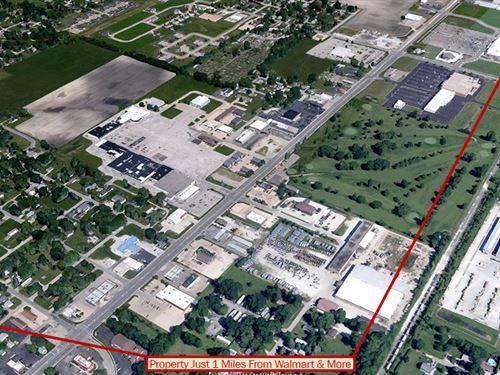 Charming, Small Town Lot : Streator : La Salle County : Illinois