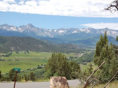Cool Acreage Southwest CO Mountain : Ridgway : Ouray County : Colorado