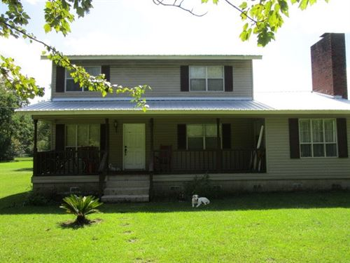 Large Home Land Additional Rooms : Altha : Calhoun County : Florida