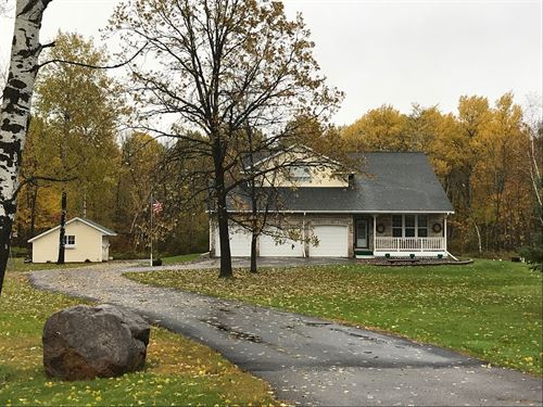 Country Home Wooded Acres, West : Brook Park : Kanabec County : Minnesota