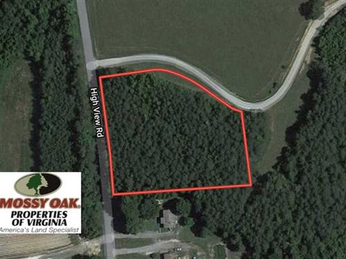 2 Acre Building Lot For Sale in Ha : Halifax : Virginia
