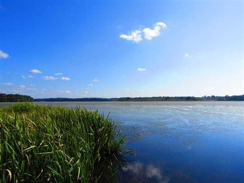 Reduced, .49 Acres of Waterfront : Gaston : Northampton County : North Carolina