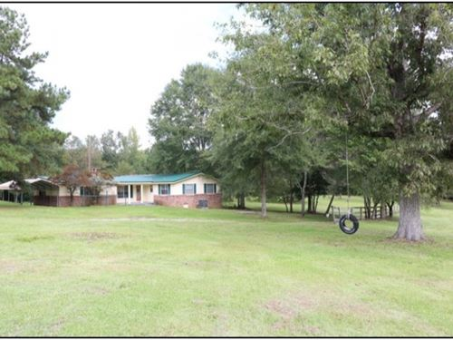 18.78 Acres With A Home In Lauderda : Meridian : Lauderdale County : Mississippi