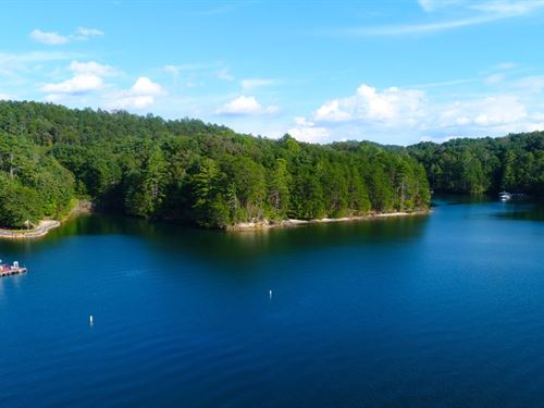 Lake Keowee Frontage : Sunset : Oconee County : South Carolina