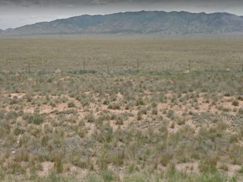 7.65 Acre Lot In Belen : Belen : Valencia County : New Mexico
