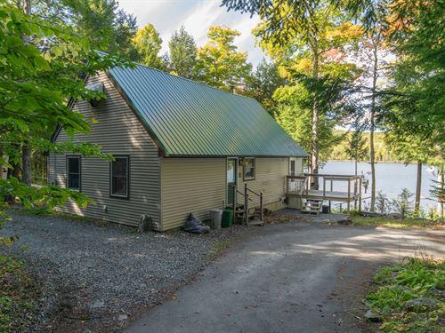 Lakefront Camp Sebec Lake Sebec : Sebec : Piscataquis County : Maine