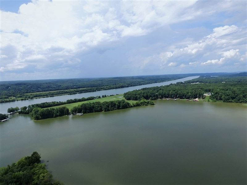 Dockable Lakefront Ky Lake/Tn River : Linden : Perry County : Tennessee