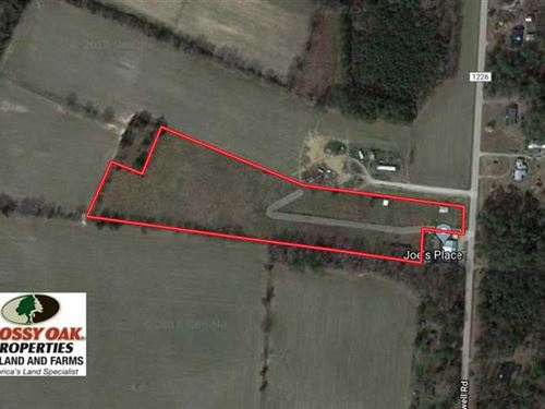 Under Contract, 8.2 Acres of Past : Rocky Mount : Edgecombe County : North Carolina