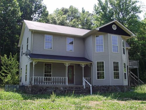 6 Bedroom Country Home Wayne County : Iron City : Wayne County : Tennessee