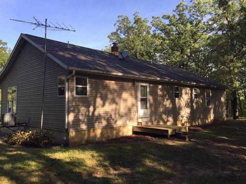 12 AC 3 Bed/3Bath Parcel Higbee, MO : Higbee : Randolph County : Missouri