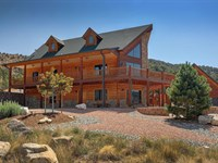 2040930, Beautiful Custom Log Home : Salida : Chaffee County : Colorado