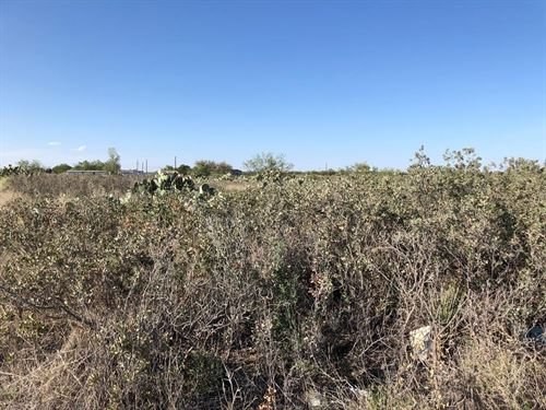 Land In Big Spring For Sale : Big Spring : Howard County : Texas