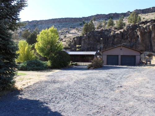 Home 11 Miles N, Burns Divine Creek : Burns : Harney County : Oregon