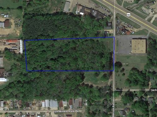 Large Commercial Lot In Jackson, Ms : Jackson : Hinds County : Mississippi