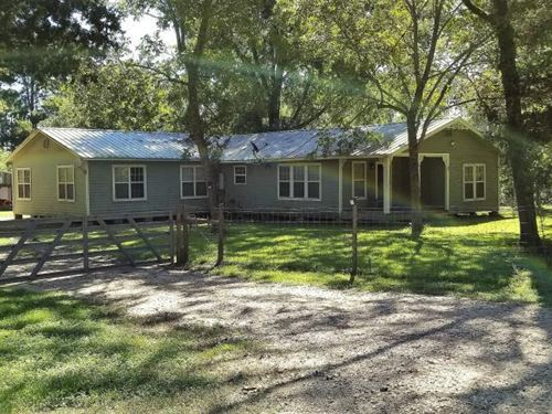 20 Acre Wooded Homesite/Ranch : Leggett : Polk County : Texas