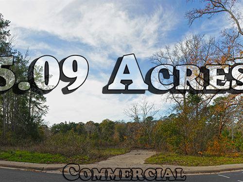 5 Ac Rare Development Opportunity : Huntsville : Walker County : Texas