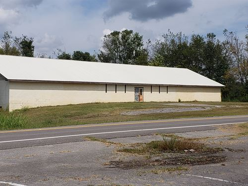 4 Acres, 3 Commercial Properties : Woodville : Jackson County : Alabama