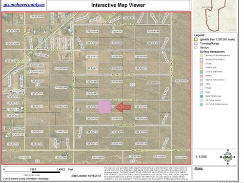 Lot General Zoning, Build Home Open : Dolan Springs : Mohave County : Arizona