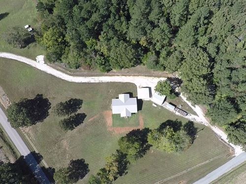 Beautiful Home On 10 Acres : Huntingdon : Carroll County : Tennessee