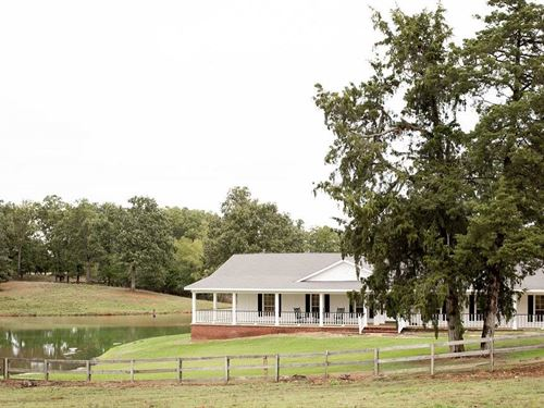 Home Small Lake And Land : Paris : Lamar County : Texas