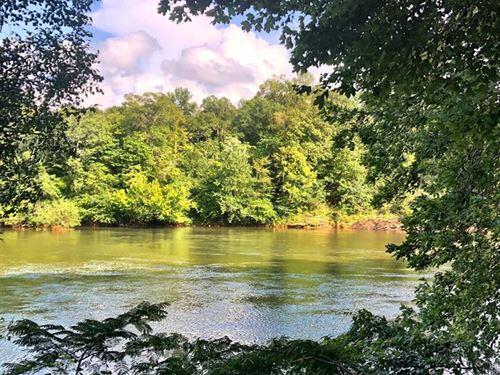 Rare Ocmulgee River Lot, Rivermist : Julie : Monroe County : Georgia