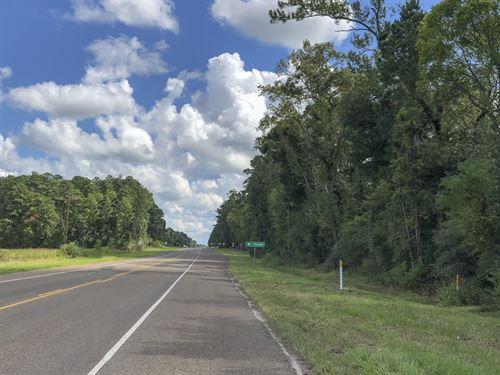 1.8 Acres Groveton Storage & Rental : Groveton : Trinity County : Texas