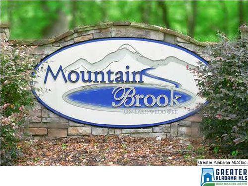 Lot 7 Mountain Brook : Wedowee : Randolph County : Alabama