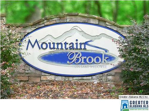 Lot 2 Mountain Brook : Wedowee : Randolph County : Alabama