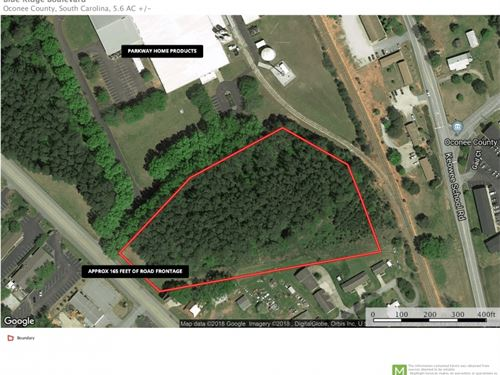 Commercial Site Blue Ridge Blvd Sen : Seneca : Oconee County : South Carolina