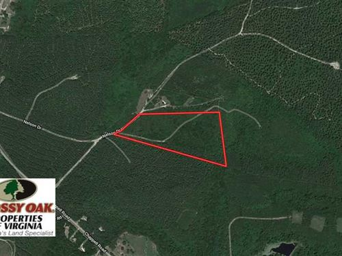 Under Contract, 15 Acres of Hunti : Farmville : Prince Edward County : Virginia