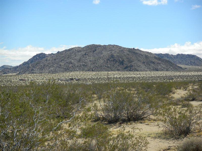 Great Parcel With Power, Bodick Rd : Johnson Valley : San Bernardino County : California