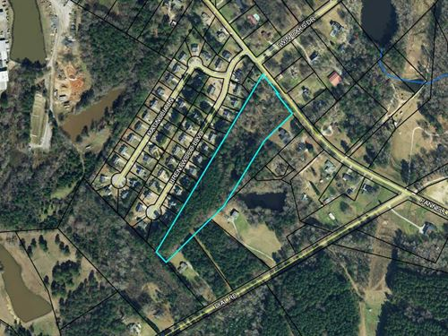 Large 9 Acre Lot With Pond : Monroe : Walton County : Georgia