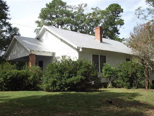 Home With 2 Acres on Highway 14 : Marion : Perry County : Alabama