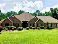 6 Bed, 5.5 Bath Home, Shop Creek 12 : Summit : Pike County : Mississippi