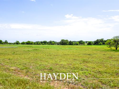Beautiful Lot In Stone Gate Estates : Stephenville : Erath County : Texas