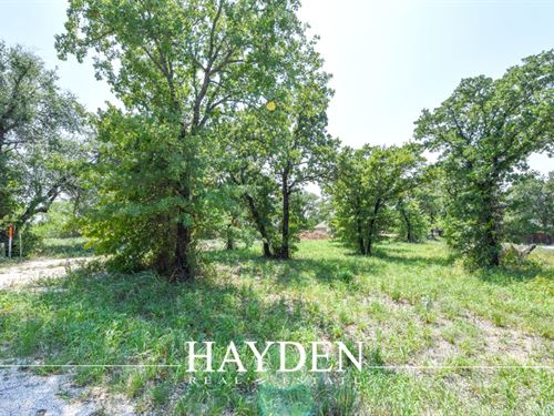Walking Horse Estates Lot : Stephenville : Erath County : Texas