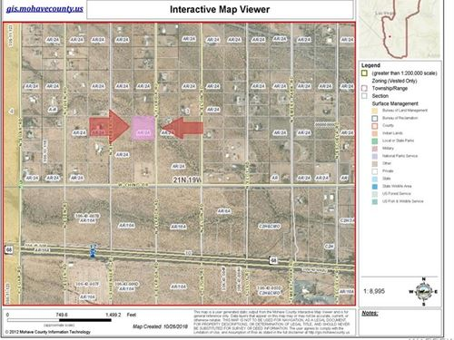 Flat 2.35 Acres Owner Will Carry : Golden Valley : Mohave County : Arizona