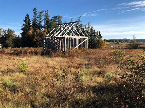 Coastal Building Lot Trescott : Trescott Township : Washington County : Maine
