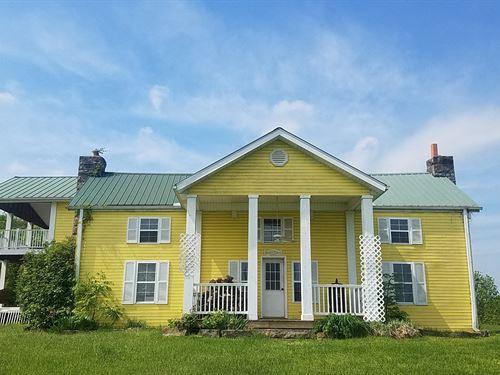 Country Home 12+ Acres in Kentucky : Monticello : Wayne County : Kentucky