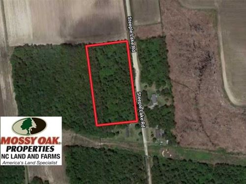 3.88 Acre Residential Lot For Sale : La Grange : Greene County : North Carolina