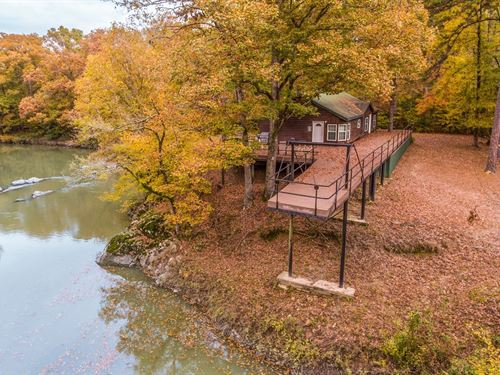 Waterfront Home 8-Acres Smithville : Smithville : McCurtain County : Oklahoma