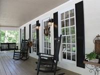 Flat Shoals Creek Home Retreat : West Point : Troup County : Georgia